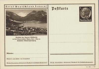 D.Reich Ganzsache P 236 SCHLIERSEE ungebraucht (43470)