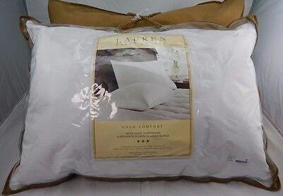 goose down pillow ralph lauren gold comfort white goose down standard queen pillows