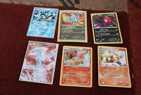 Kyurem , White Kyurem , Yveltal , Reshiram , Talonflame , Arcanine Pokemon Cards