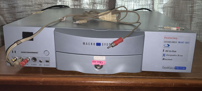 Macro System Casablanca Prestige Digital Video Editing  80 GB