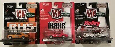 Castline M2 Machines Lot 3 Cars Camaro SS Hays RHS Chevy Bel Air Holley Diecast