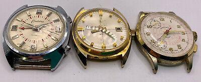 Vintage Endura wrist alarm Men's repair lot U-Fix.