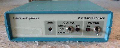 Lake Shore Cryotronics Model 110 Current Source C1105 90-125v0.2a C15b3