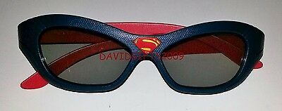 Batman Vs Superman Dawn of justice 2016: Real 3D Glasses SUPERMAN L Edition USA
