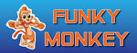 FUNKY MONKEY CARDS-KEYRINGS-MORE