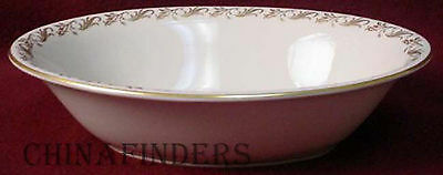 PICKARD china SWEETBRIER 1206 pattern OVAL VEGETABLE Serving BOWL