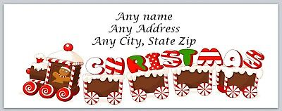 Personalized Address Labels Merry Christmas Buy 3 Get 1 Free Ac 563