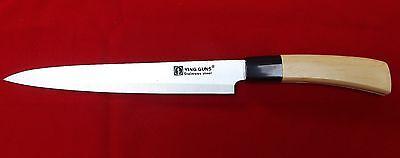 Kitchen Chef Knife DEBA Stainless Steel Japanese Sashimi Sushi Cook Cutlery