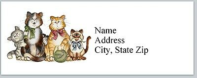 Personalized Address Labels Cute Cats Buy 3 Get 1 Free P 488