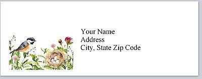 Personalized Address Labels Bird Eggs In Birdnest Buy 3 Get 1 Free Bx 276
