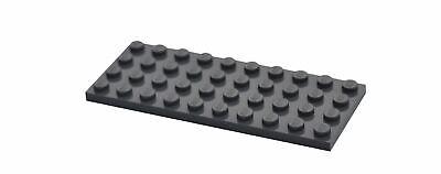 4 Lego dark bluish gray 4x10  plate NEW 4211122