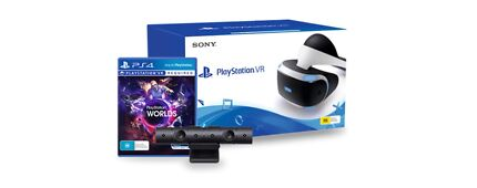 PlayStation VR comes with camera PlayStation world and farpoint  Southport Gold Coast City Preview