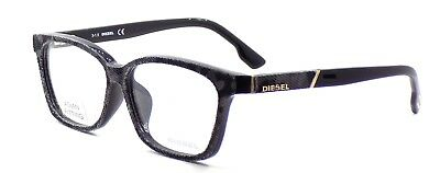 DIESEL DL5137-F 020 ASIAN FIT Eyeglasses Frames 58-14-145 Gray Black Denim +Case