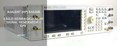 Agilent Hp E4430b Esg-d Series Digital Rf 1 Ghz Signal Generator Ref. 280g