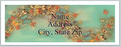 Personalized Address Labels Butterflies Background Buy 3 Get 1 Free Bx 692
