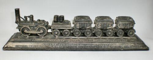 Vintage 1926 DeWitt Clinton 1st Railroad Train Paperweight ~ New York Central