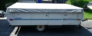 1992 Coleman Royale Destiny Series low-profile camping trailer
