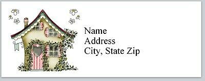 Personalized Address Labels Primitive Country House Buy 3 Get 1 Free Bx 438