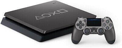 Sony PlayStation 4 Slim Days of Play Limited Edition Steel Black 1TB Console