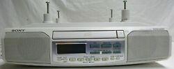 Sony ICF-CD513 Under Cabinet Counter Clock Radio AM/FM CD Player