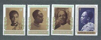AFRIQUE GUINÉE - 1973 YT 500 à 503 - TIMBRES NEUFS* MH