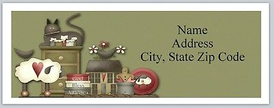 Personalized Address Labels Primitive Country Buy 3 Get 1 Free P 26