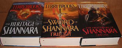 The Sword, High Druid, Heritage of Shannara Books by Terry Brooks Hardcover NEW