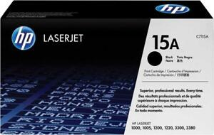 HP C7115A black toner cartridge for HP Laserjet 1000 1005 1200 1220 3300 3380
