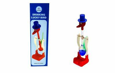 C&H Solutions Famous Retro Perpetual Motion Magic Drinking Bird (Blue)