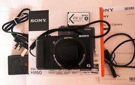 Sony DSC-HX60 20MP superzoom digital camera