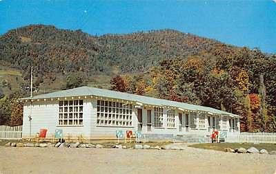 Maggie North Carolina Little Ranch Motor Court Vintage Postcard K55005 Carolina Ranch