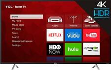 "TCL - 49"" Class (48.5"" Diag.) - LED - 2160p - Smart - 4K Ultra HD TV Roku TV"