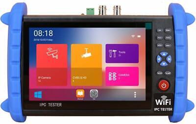7 Hd Ip Cctv Tester Monitor Ahd Cvi Tvi Sdi 8mp Camera Wifi Multimeter Vfl Tdr