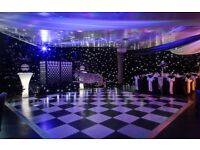Christmas Party Services, Event Decor & Services, Themed events, LED Starcloth Draping, Themed Props