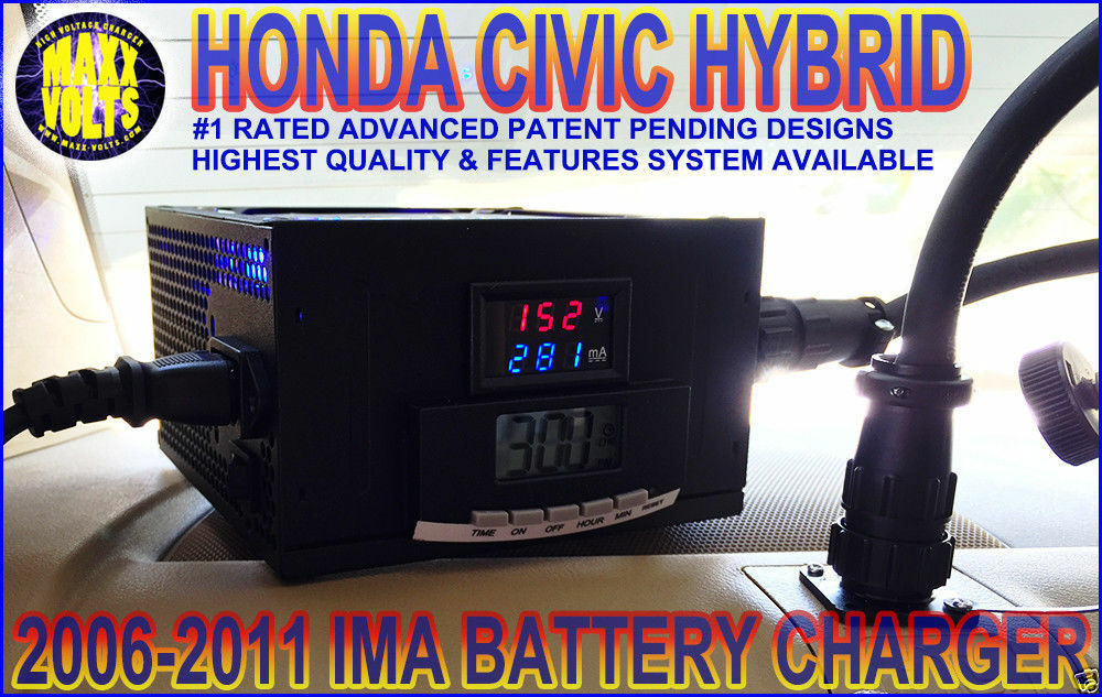 2006 2011 honda civic hybrid ima battery grid charger w. Black Bedroom Furniture Sets. Home Design Ideas