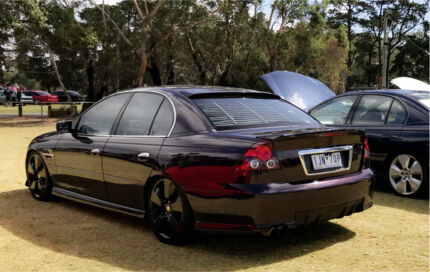 2004 Holden VY SPAC 5 Speed Manual Cosmo Purple
