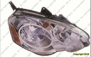 Head Lamp Passenger Side High Quality Acura RSX 2002-2004