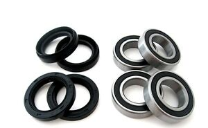 Both-Front-Wheel-Bearings-Seals-Kit-Yamaha-YFM400-Kodiak-4WD-2001-2002-2003