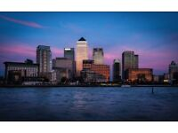 Modern one and two bedroom apartments in Londons Canary Wharf - Flexible Terms including Xmas dates!