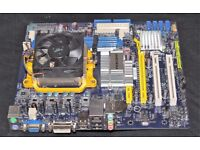 Foxconn A76ML-K, AMD Motherboard WITH HEATSINK AND FAN NO CPU