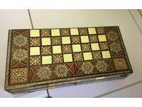 Backgammon/Chess Set