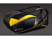 Yonex Lin Dan exclusive bag 6 rackets