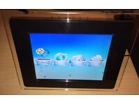 """10.4"""" Digital Photo Frame Picture Video Player Black +Remote"""