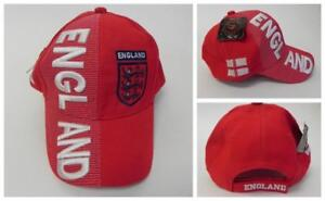 New, FIFA Soccer World Cup Hat Cap, Adjustable One Size England