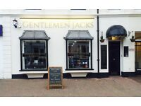 Barber required full or part time at Gentlemen Jacks Eastbourne