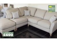 Designer Buoyant daisy corner sofa