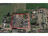 Open Yard Storage Car Van Caravan Lorry Parking To rent let - Southend Essex