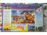 Collectors Unopened D Day Landings Jigsaw Puzzle 2004 1500 pieces - Father's Day