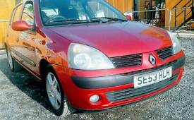 Renault clio 1.2 for sale ( LOW MILEAGE 49000)