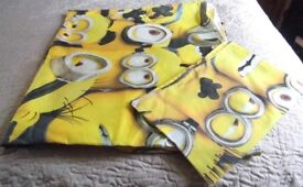 Minions Duvet Cover and Plillow Case